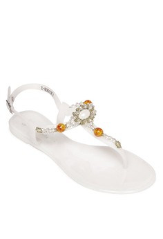 Jelly Flat Sandals