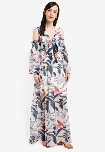 LOST INK multi Floral Print Maxi Dress 34C69AAE7902DFGS_1
