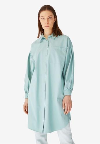 Trendyol green Tunic Shirt F47B1AA20D9A35GS_1