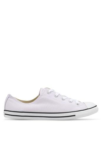 baac4082a19a Converse purple Chuck Taylor All Star Dainty Ox Canvas Color Sneakers  025E3SH9945CB8GS 1