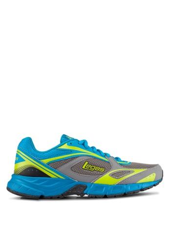 Legas grey and blue Evade LA Men's Shoes LE684SH0S2MVMY_1