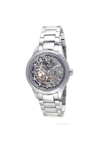 3eae0d5afb47 Kenneth Cole silver Kenneth Cole Automatic Silver Skeleton Dial Watch  KE854AC11NPKSG 1