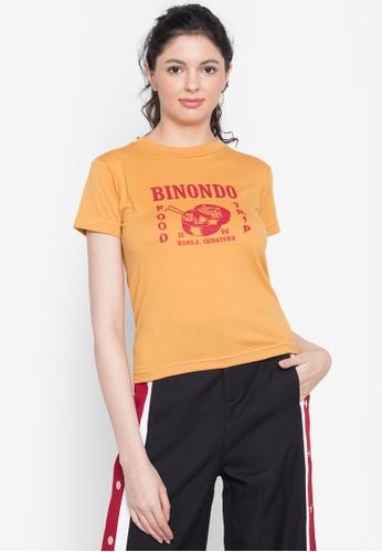 Artwork yellow Binondo Manila T-Shirt E118EAA869B240GS_1