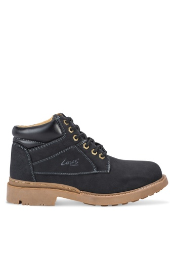 Louis Cuppers black Lace Up Boots LO977SH84AYXMY_1