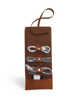c639eff6bf856 Louiebelle Collection brown Cable and Cord Organizer 1042FACAD087E0GS 1