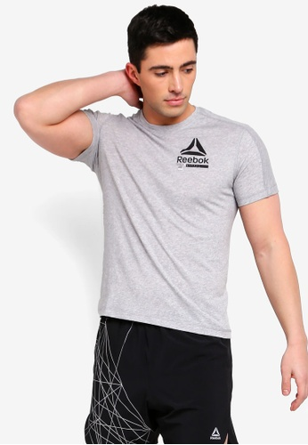 60c03a294021e5 Buy Reebok Training Mid SpeedWick Move Tee Online on ZALORA Singapore