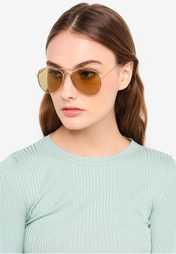 74818b4c33 Shop Rubi Arabella Metal Sunglasses Online on ZALORA Philippines