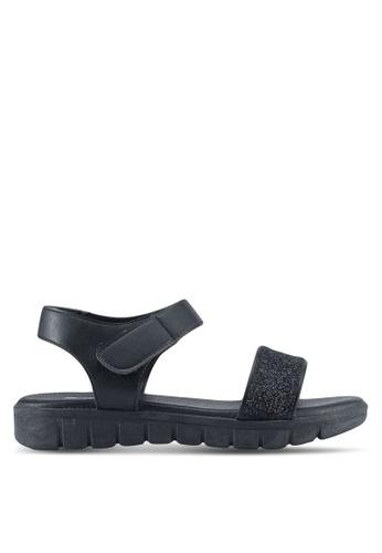 Bata black Jaley Sandals FE1D8SHF8817FAGS_1