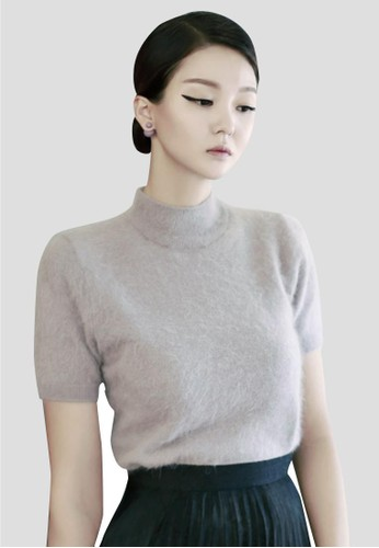 安zalora taiwan 時尚購物網鞋子哥拉針織半袖, 服飾, 毛衣& 針織外套