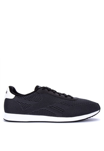 Reebok black Royal CL Jog 2PX Lifestyle Sneakers 07E13SHBA34389GS_1