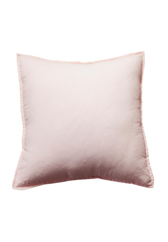 DILAS HOME pink Basic Lightweight Cushion Cover (Pink) 9AC1DHLF343120GS_1