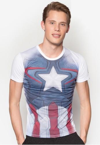 美國隊長設計TEEesprit 台中, 服飾, T恤