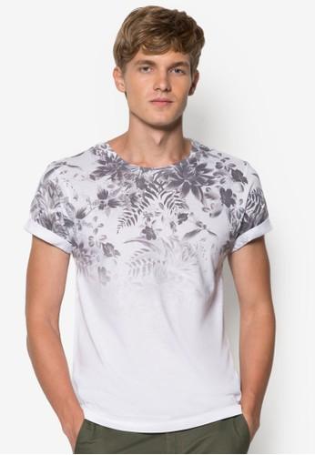 漸層印花設計TEE, esprit台灣官網服飾, 印圖T恤