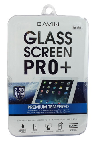 BAVIN white Bavin Tempered Glass Screen Protector for iPad Mini 4 6E191AC8644B02GS_1