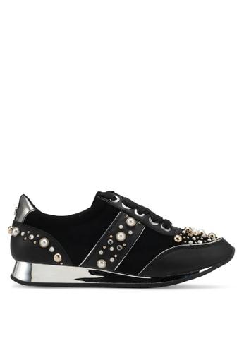 Carvela KG black Embellished Sneakers CA459SH0SNXNMY_1