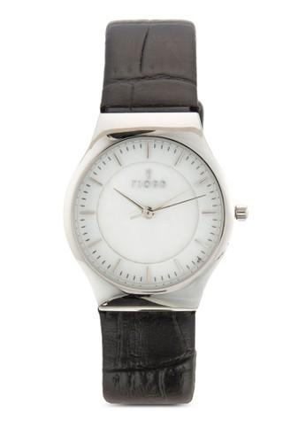 OLLE 三指針皮革錶, 錶類, 飾esprit 會員品配件