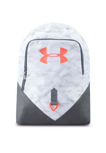 Under Armour white Ua Undeniable Sackpack UN337AC0STZQMY_1