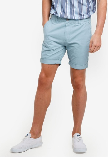 Cotton On 藍色 Washed Chino Shorts 7FA83AAF335945GS_1