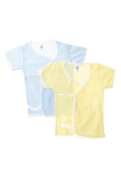 555 Tieside Sleeves Baby Dress Unisex (Set of 6)