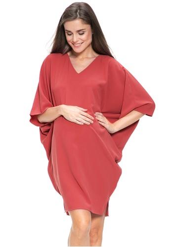 Mayarya red Mallorca Dress 946EFAAEEA53FBGS_1