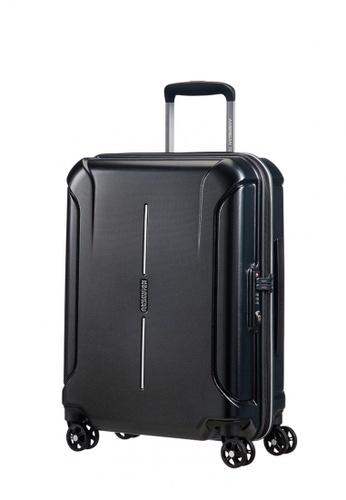 American Tourister black American Tourister Technum Spinner 55/20 TSA Asia AM536AC0FAIRSG_1
