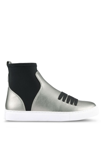 House of Avenues silver Booties HO685SH0RRBDMY_1