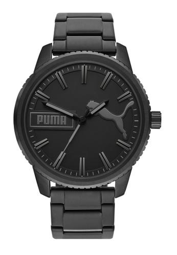 PUMA black Ultrafresh Watch P5080 8E0E3AC6571133GS_1