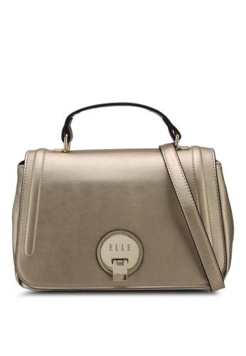 ELLE gold Caressa Sling Bag C3A4FACAC61831GS_1