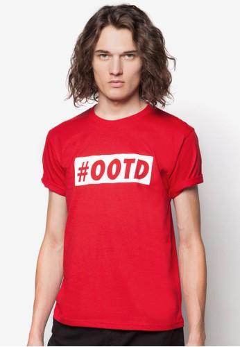 #OOTD 文字印花T 恤, 服飾, esprit服飾服飾