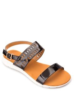 Louvre Flat Sandals