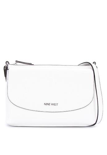 717dc9dc7 ... handbags; nine west face forward satchel black white; nine ...