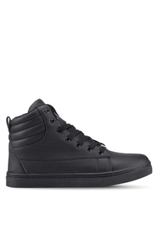 High Top Textured Sneakers FF194SH99A7E58GS 1 2617715ee