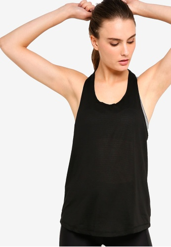 Cotton On Body black Body Active, Elastic Back Tank Top AD1DAAAA71FF2BGS_1
