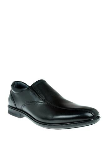 Hush Puppies black Mens Dress Shoes Parker Slip On 38DAFSH826916BGS_1