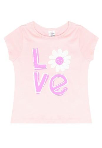 LC Waikiki pink Printed T-Shirt 7E906KAB1521FDGS_1