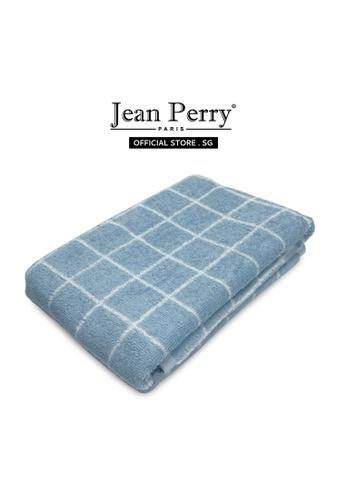 Jean Perry Jean Perry Kartell 100% Cotton Bath Towel - Baby Blue 93DA6HLF096318GS_1
