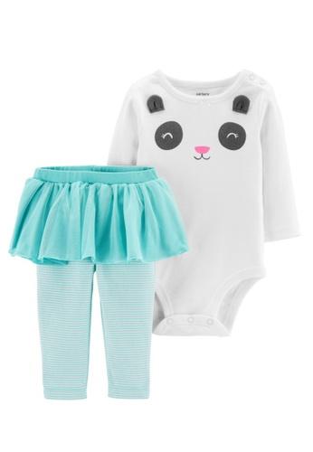 Buy Carter's CARTER'S 2-Piece Panda Bodysuit & Tutu Pant Set Girls  Bodysuits Ivory 2020 Online | ZALORA Singapore