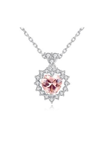 SUNRAIS silver Premium Silver S925 Silver Leaf Necklace 16C73AC2F29979GS_1