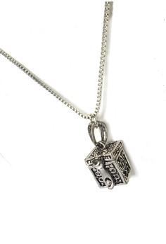 Ichthus Prayer Box Necklace