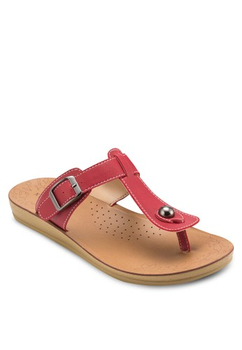 T 字帶夾腳拖鞋esprit 香港 outlet, 女鞋, 懶人鞋
