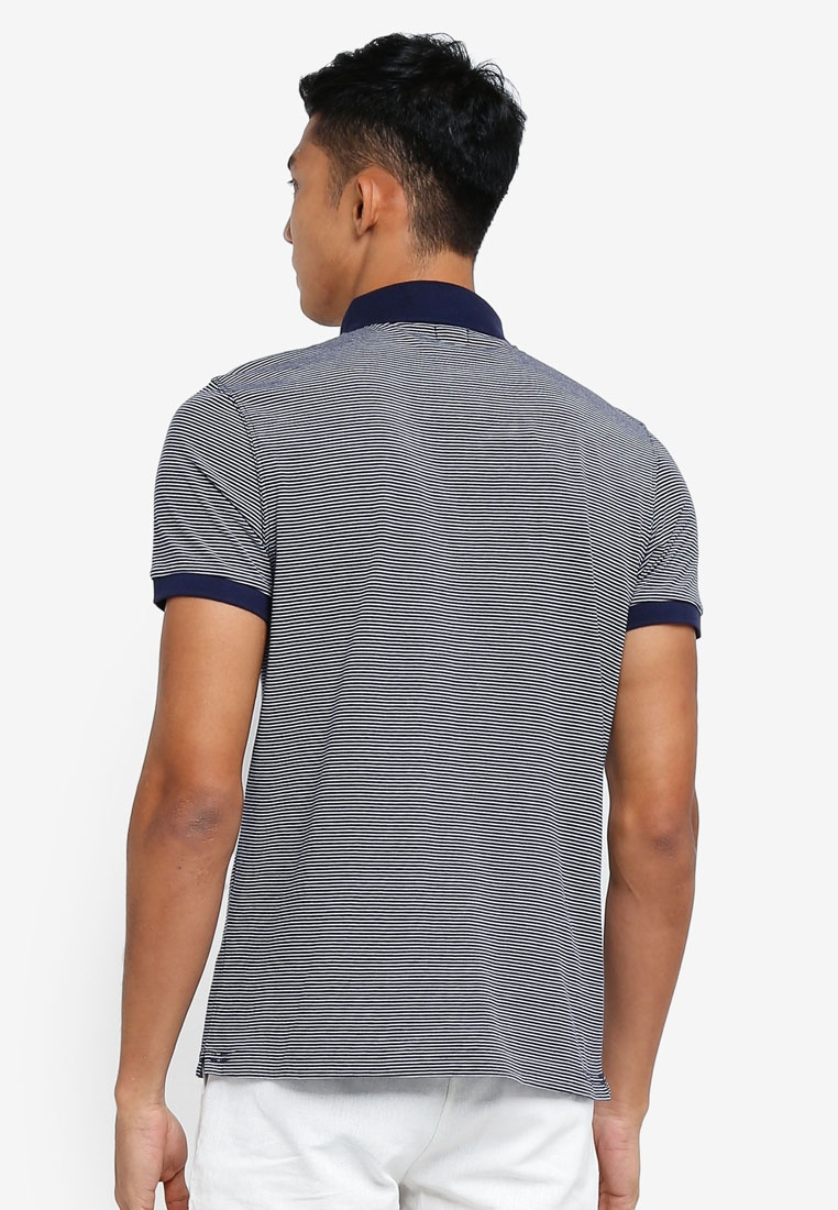 Blues OVS Shirt Dress Jersey Striped Polo FCqwXxYU