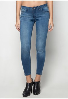 Power Stretch with Pipping Jeans