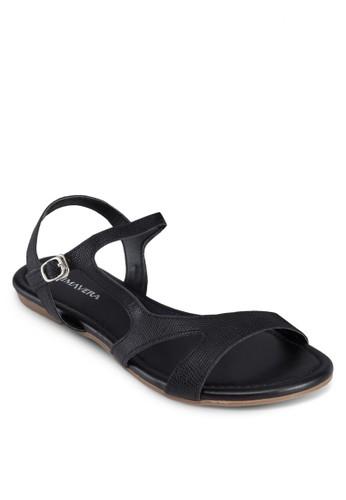 Riley 鏤空平底esprit分店涼鞋, 女鞋, 涼鞋