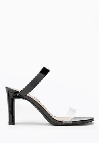 PAZZION black Chic Breezy Slide Sandal E18CASH7E124B3GS_1