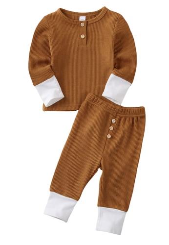 RAISING LITTLE brown Archer Loungewear B84ECKA23116FDGS_1