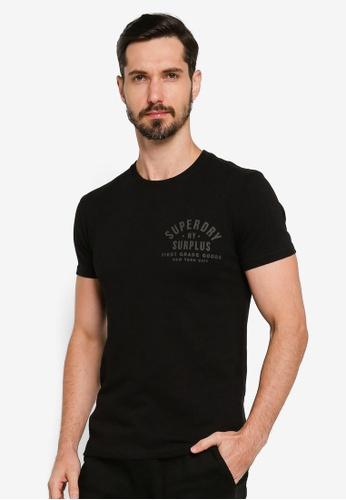 SUPERDRY black Surplus Goods Graphic Tee 3B350AA3D00BF5GS_1