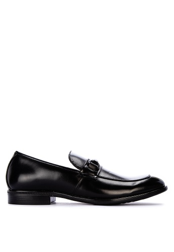 Kenneth Cole black Edge Flex Slip On Formal Shoes E3987SH86DA94CGS_1