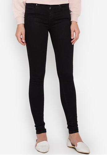 Dorothy Perkins black Regural Fit Bailey Jeans DO101AA0KL50PH_1