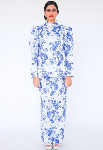 Blubelle blue Lorene Kurung in Royal Blue 26382AAB824BA0GS_1
