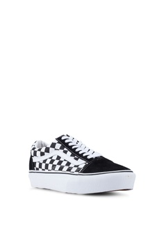 51e425907ce VANS Old Skool Platform Checkerboard Sneakers S$ 89.00. Available in  several sizes